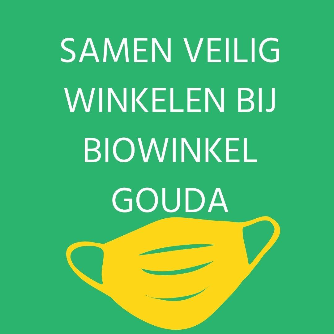 Samen veilig winkelen bij Biowinkel Gouda